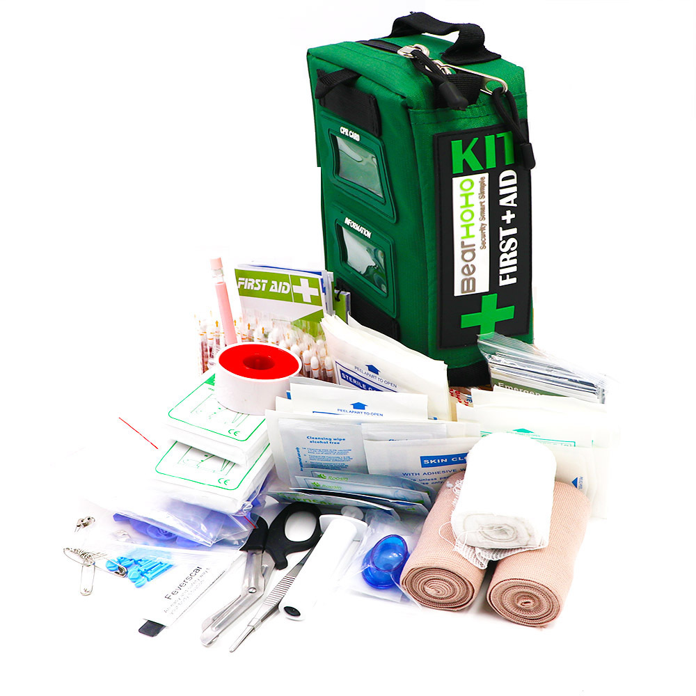 165Pcs/set First Aid Kit Emergency Medical Rescue Multi-functional Outdoor Adventure Travelling High Quality Student Hiking Kits