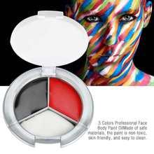 3 Colors 12g Professional Face Body Paint Oil Painting Art M