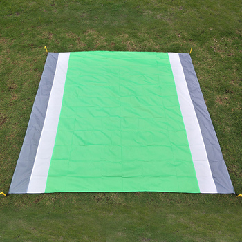 Portable Picnic Mat Waterproof Beach Mat Pocket Blanket Camping Tent Ground Mat Mattress Outdoor Camping Sleeping Bed Mat 2*2.1m william l wlor01bcorcn