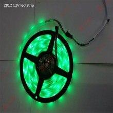 2812 12v led strip 300leds RGB Magic lantern with watertight non-watertight drivepipe White black circuit board 5meter/lot