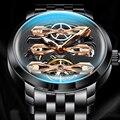 Часы AILANG с полым маховиком  модные автоматические мужские часы  водонепроницаемые часы из нержавеющей стали  часы для дайвинга  sss gear  2019