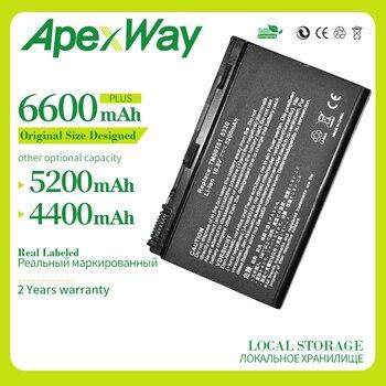 Apexway-batería para portátil, 4400mAh, 10,8 v, para Acer Extensa 5220 5630G 5620Z...