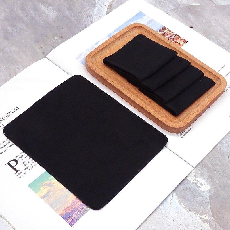 Салфетка из микрофибры для очистки очков, 5 шт./лот, 14,5*17,5 см