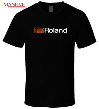 Roland Piano Organs 4 Black T Shirt Cool Casual pride t shirt men Unisex New Fashion tshirt free shipping tops cotton