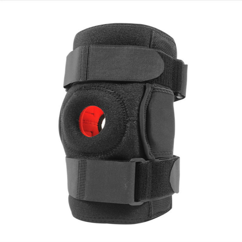 1PC Neoprene Elastic Open Patella Knee Brace Adjustable Basketball Kneepad Knee Protector Support Pad Guard Rodilleras Joelheira