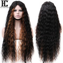 32 Inch Brazilian Water Wave 6x1 Lace Closure Wig Deep Part