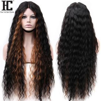 Brazylijski Water Wave 6 #215 1 zamknięcie koronki peruka głębokie część długie włosy ludzkie koronki część peruki 180 wstępnie oskubane z dzieckiem włosy Remy tanie i dobre opinie Remy Ludzki Włos Lace Part Wig Średnia wielkość