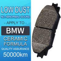 4 piece/set car Front and rear Ceramics Brake Pads for BMW 7 Series G12 2010-2018 740Li xDrive 750Li xDrive 4.0 4.4 Brake Shoes
