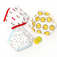 Ecological Diapers Panties Changing-Nappies Fitted Real-Cloth for Children Reusable