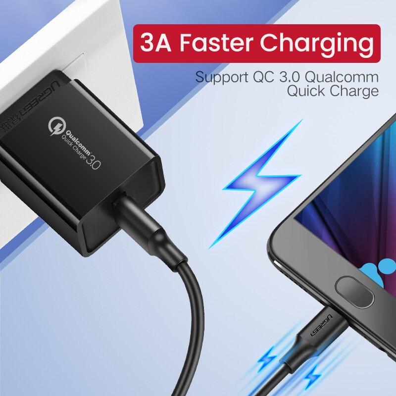 Samsung HTC LG Android Tablet USB Tel üçün Ugreen Micro USB Kabel - Cib telefonu aksesuarları və hissələri - Fotoqrafiya 2