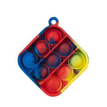 Mini Pop It Bubble Sensory Sensory Pop It zabawki antystresowe dla lęku Ocd 2021 nowy Push Pop Pop Bubble Sensory Fidget tanie i dobre opinie CN (pochodzenie) pop it toys