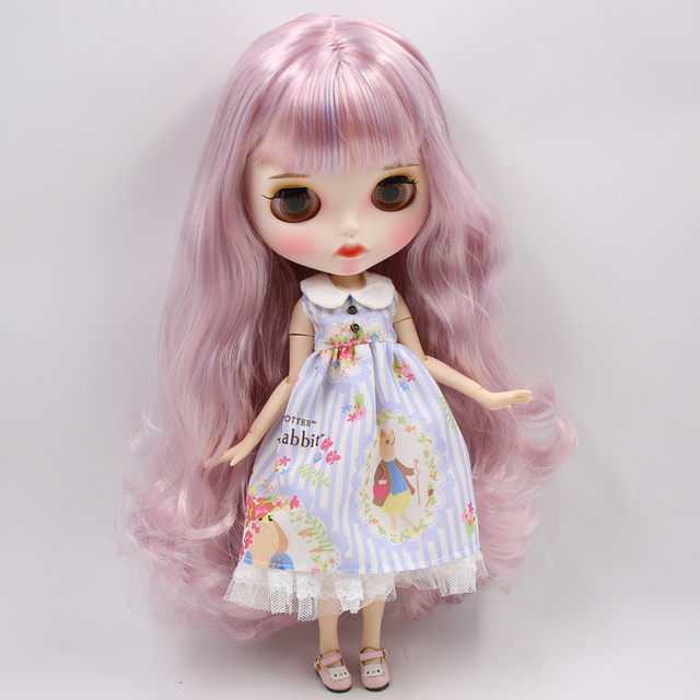 Journee – Premium Custom Blythe Doll with Full Outfit Pouty Face