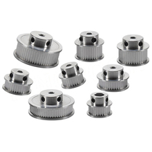 3D Printer Parts  GT2 synchronous wheel 16 Tooth 2GT 30 36 40 Teeth Aluminum Bore 5mm 8mm Synchronous Wheels Gear Part xl60 60 tooth timing pulley aluminum 3d printer parts 60xl 60teeth bore 6 8 10 12 14 15 17mm width 11mm synchronous wheel gear