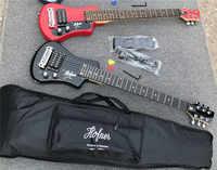 Frete grátis multi cor hofner Devagarzinho mini Guitarra De Viagem Protable novato guitarra criança guitarra Elétrica