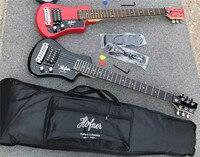 free shipping multi color hofner Shorty mini Travel Guitar Protable beginner guitar kid Electric guitar