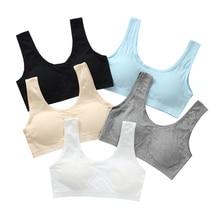 Bra Training-Bras Kids Girls Underwear Puberty-Girls Breathable Cotton Children Wireless