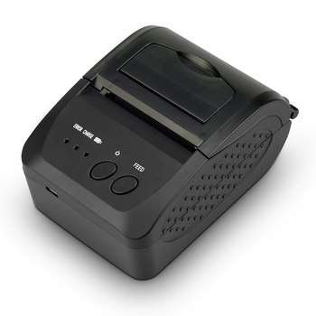58mm Portable Bluetooth Thermal Receipt Printer Port Receipt Printer POS Printer Mini Bluetooth Printer Ticket Printer Android I