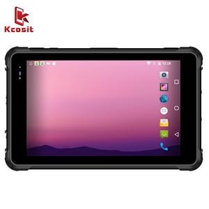 Прочный планшетный ПК, Android 9,0, водонепроницаемый смартфон IP67, 8 дюймов, 4 Гб ОЗУ 64 Гб ПЗУ, 4G LTE 2D сканер штрих-кодов, UHF RFID, 2020