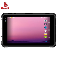 2020 China Rugged Tablet PC Android 9.0 Smartphone IP67 Waterproof 8 Inch 4G RAM 64GB ROM 4G LTE 2D Barcode Scanner UHF RFID