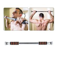 85 Kg Adjustable Door Horizontal Bars Gym Home Workout Chin Push Up Pull Up Training Bar Sport Fitness Dominated Bar Equipments