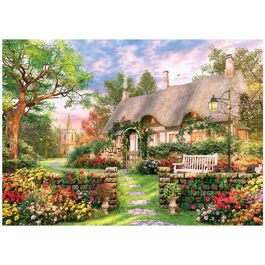 1000 Pieces Jigsaw Puzzle Children's Adult Wooden Puzzle Intelligence Educational Game Toys kids Jigsaw Puzzle toys Stickers 18