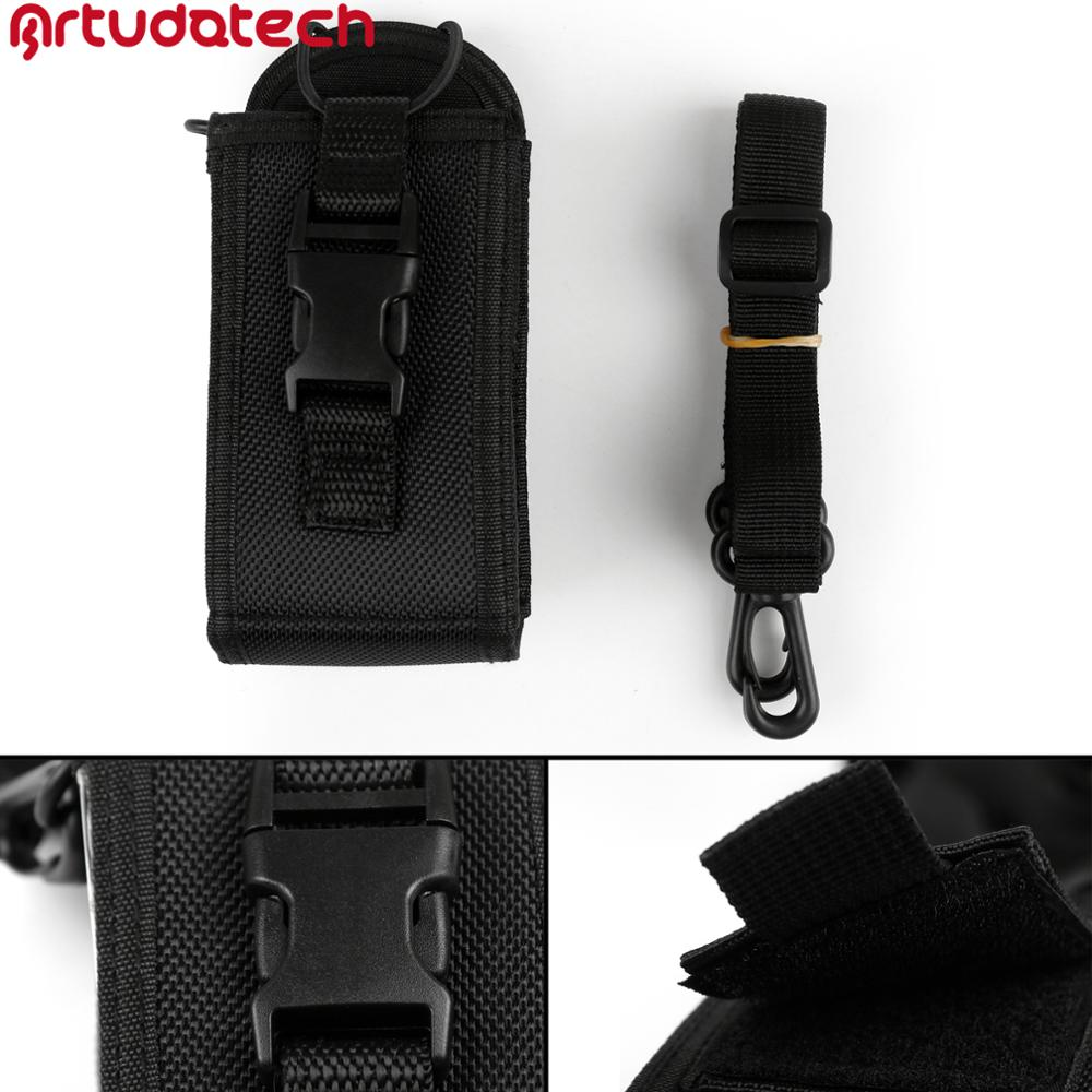 Artudatech Big Size Multi-Function Nylon Case Holder For Motorola GP340 GP328 GP68 GP88 GP 340 328 68 88 Accessories