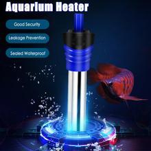 Appareil de chauffage d'aquarium Submersible Thermostat de température tige de chauffage 50/100/200/300/500W accessoires de réservoir de poissons d'aquarium Submersible