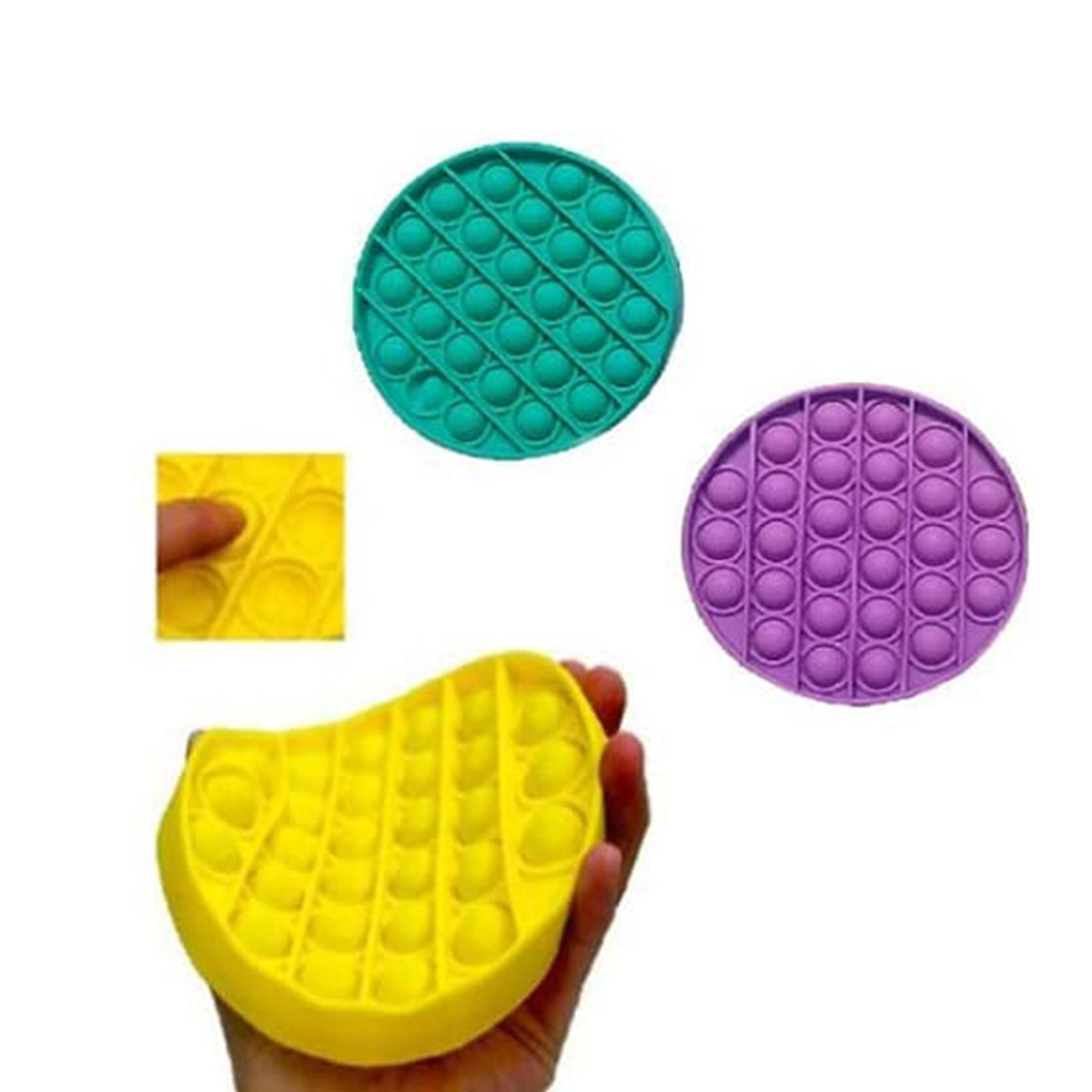 Antistress Toys Popit Push Special Sensory-Toy Reliever Autism img3