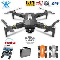 2021 neue GPS Drone 8K HD Professionelle Luft Fotografie Mit 5G WIFI Bürstenlosen Motor FPV Quadcopter RC Kamera hubschrauber Spielzeug
