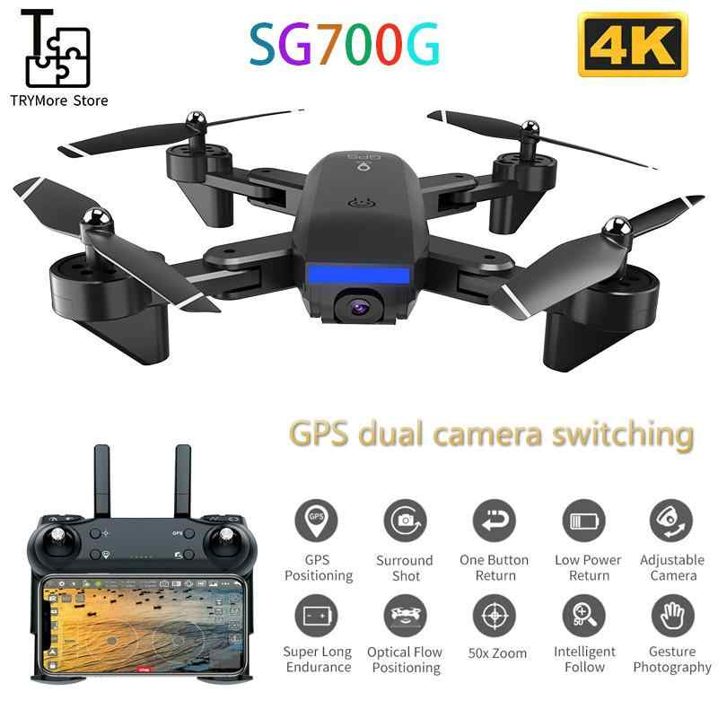 Sg700g Gps Drone Met 4 K Hd Aanpassing Camera Groothoek 5G Wifi Fpv Rc Quadcopter Professionele Opvouwbare Drones vs Sg907