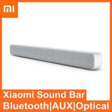 Xiaomi Mi ТВ Саундбар bluetooth 5,0 динамик стерео система домашнего кинотеатра AUX оптический SPDIF Mi динамик звуковая панель сабвуфер для ТВ музыкальны...