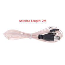 2M Dipole radio antenna aerial FM signal receiver male connector TV adapter(China)