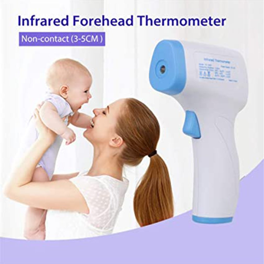 Digital Thermometer Forehead Infrared Thermometer Non Contact Temperature Meter hygrometer IR Laser Temperature Measuring Tools
