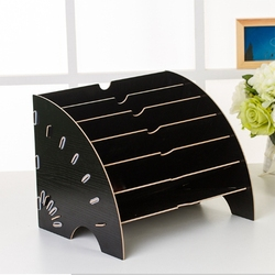 Creative Desktop File Holder Document Storage Box Decorative Office Desk Organizer Office Desk Sets
