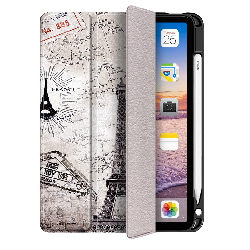 Stand (Presell Cover Case Air Silicone Generation Support IPad A2316 for 2020 ) 4 4th