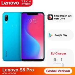 Перейти на Алиэкспресс и купить original global version lenovo s5 pro 6gb 64gb snapdragon 636 octa core 3500 mah 6.2 inch smartphone