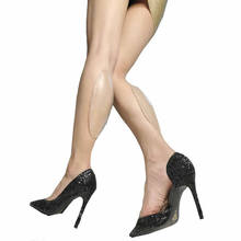 Corretores de perna de silicone onlays macio auto adesivo para pernas tortos ou finas incluindo estiramento mangas estilo acessório