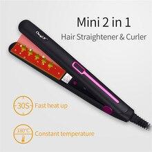 Portable Hair Curler Hair Straightener