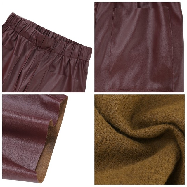 Women's PU Leather Trousers 6