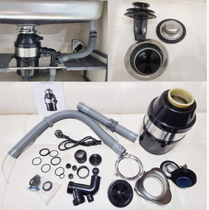 Processor Food-Waste-Disposer Grinder Crusher Sewer Residue Kitchen-Sink-Applia Rubbish