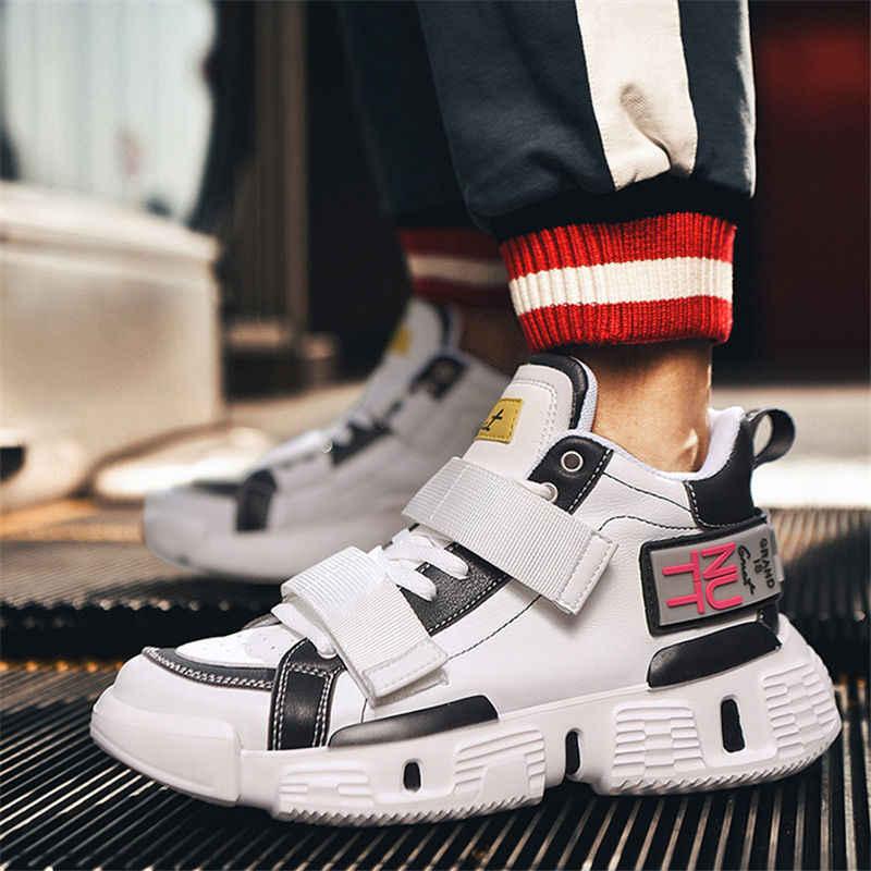 High Top Streetwear Shoes Male Sneakers