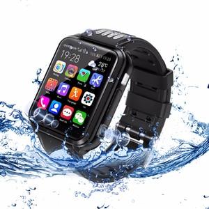 Image 5 - スマート腕時計4グラムアンドロイド電話子供スマートウォッチsimカードとtfカードデュアルカメラwifi腕時計gps測位クアッドコア