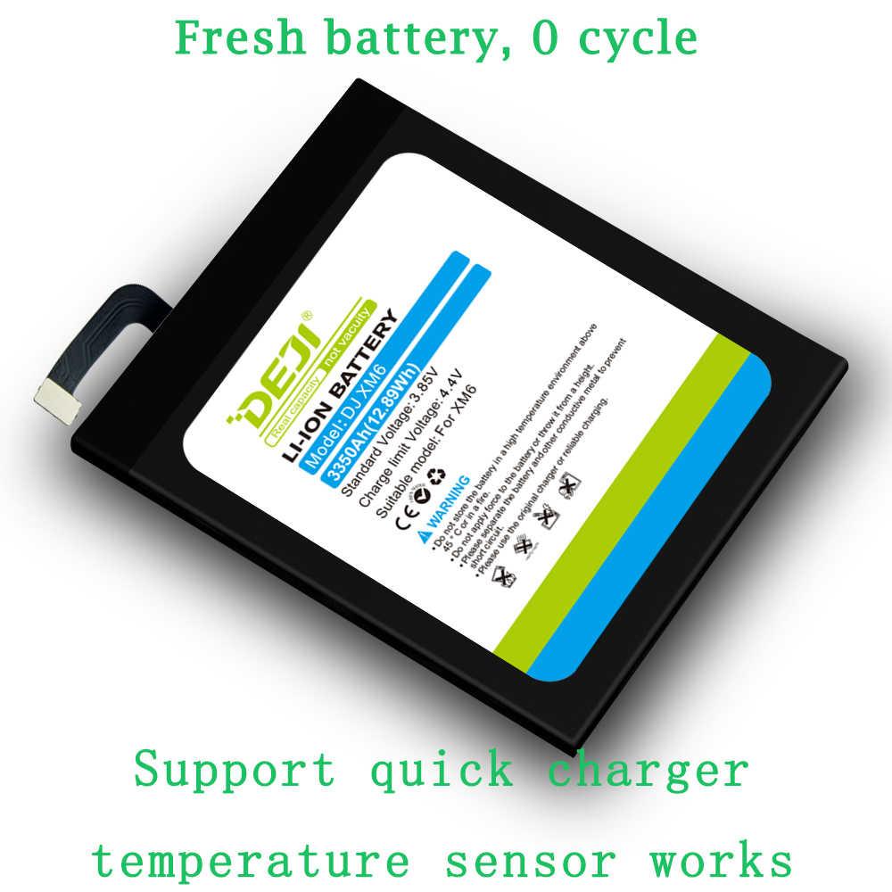 DEJI Batterij Voor xiaomi 6 BM39 Originele Capaciteit 3350mAh interne Batterijen Vervanging nieuwe batterij 0 cyclus mi 6 met Gereedschap