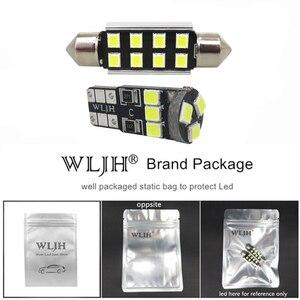 Image 5 - WLJH 17x ホワイトエラーフリー車マップミラー電球照明パッケージインテリア Led Bmw E46 1999 2006 セダンワゴンクーペ Canbus