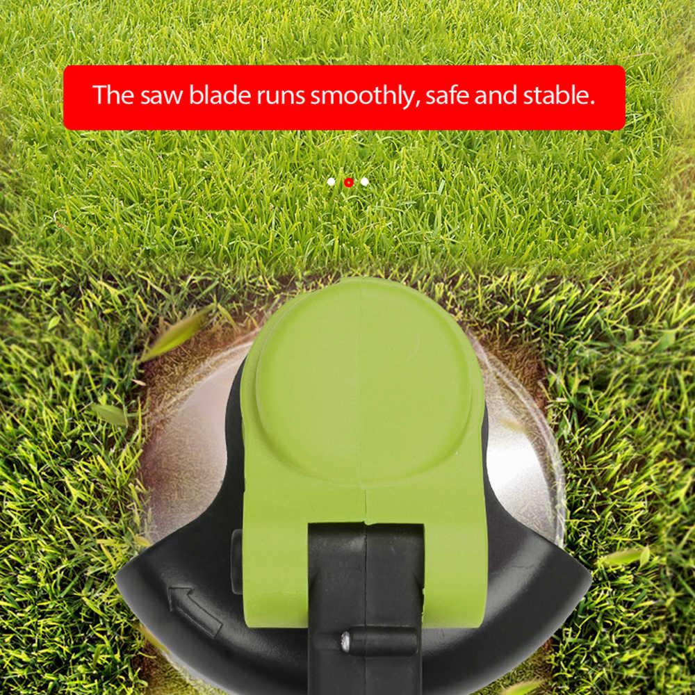 Mesin Pemotong Rumput Listrik Pertanian Cordless Weeder 24V Baterai Lithium Portable Taman Pemangkasan Alat Pemangkas Rumput Brush Cutter