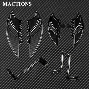 Motorcycle Front Rear Floorboards Footrest Shift Lever & Shift Pegs Brake Arm Kit Set For Harley Touring 2014-2019 Road Glide(China)