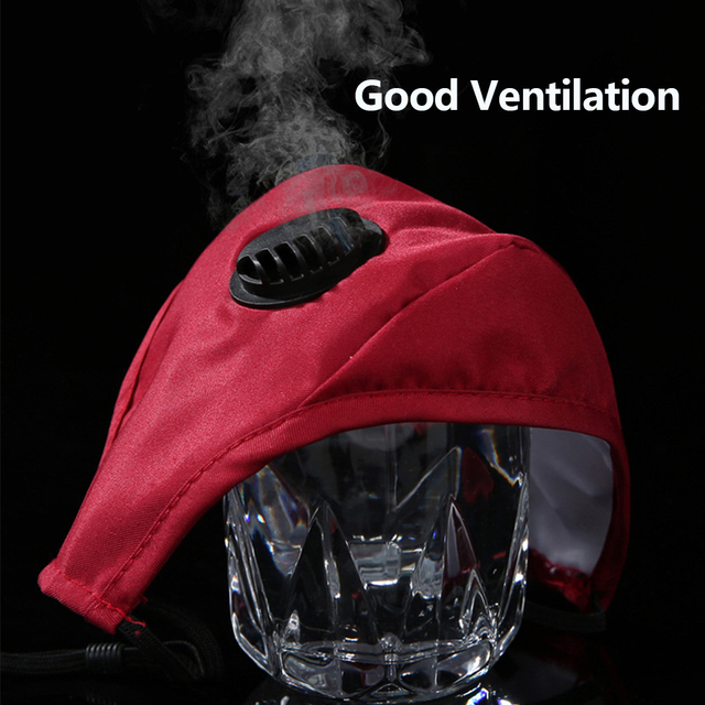 Mouth Mask Cotton PM2.5 Anti Dust Mask Activated carbon filter Windproof Mouth-muffle Bacteria Proof Flu Face Masks Free Gasket 5