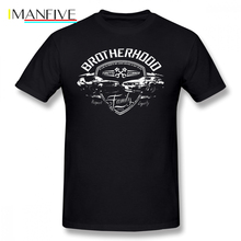 Fast And Furious T Shirt Brotherhood T-Shirt Short Sleeves Basic Tee Male Print Awesome 100 Cotton Tshirt