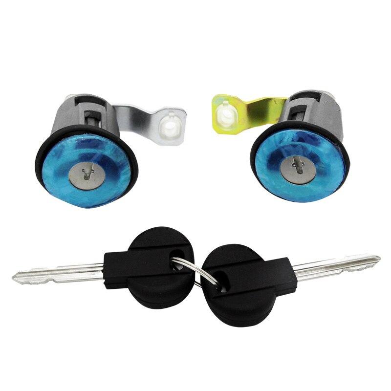 Left Right Door Lock Cylinder With 2 Keys 9170G3 252522 For Peugeot Partner Citroen Berlingo Xsara