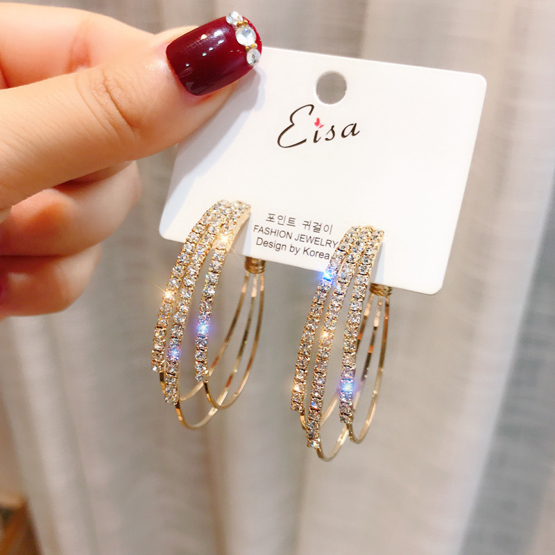 earrings 2020 New type ear nail temperament is simple and sweet fashionable female ear nail jewelry pendientes mujer